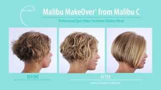 Pro Marathon Swimmer Receives Malibu MakeOver® from Malibu C