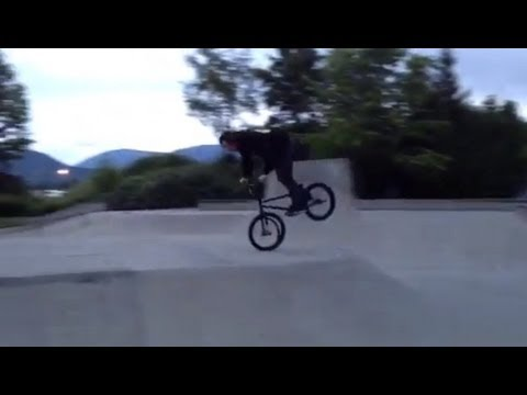 BMX - Shawn Mcintosh - Nose Manual with No Tube_Legjobb vide�k: Extr�m