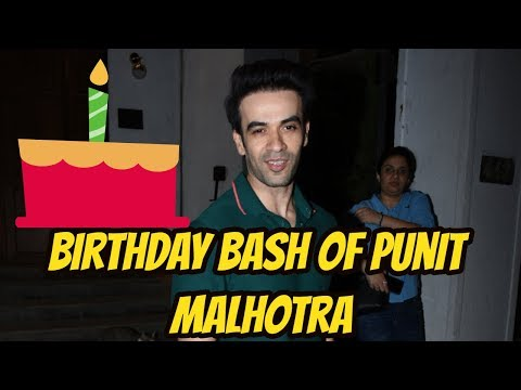 Birthday Bash Of Punit Malhotra