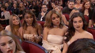 "Video Fifth Harmony Watching Ex-Member Camila Cabello Perform ""Crying In The Club"" MP3, 3GP, MP4, WEBM, AVI, FLV Januari 2018"