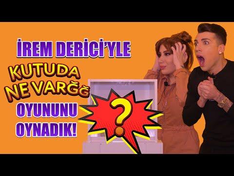 """İREM DERİCİ'YLE """"KUTUDA NE VAR?"""" OYUNU OYNADIK!"""