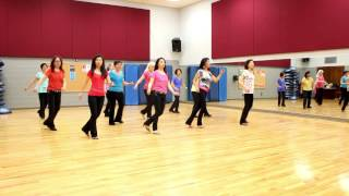 "Choreographed by: Julia Wetzel & Simon Ward (April 2017) 32 count - 2 wall - Intermediate level line dance Music: ""Don't Be a ..."