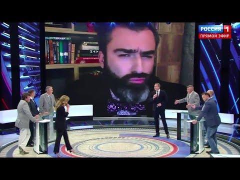 Питер Залмаев (ZALMAYEV) обращается к Путину в эфире 60 Минут, Россия 1