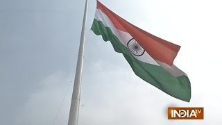 Faridabad India  City new picture : Haryana CM Inaugrates World's Biggest Indian Flag in Faridabad - India TV