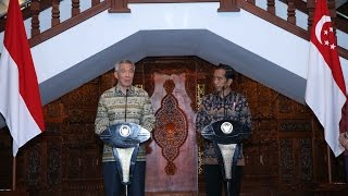 Semarang Indonesia  City pictures : Joint Press Conference in Semarang, Indonesia