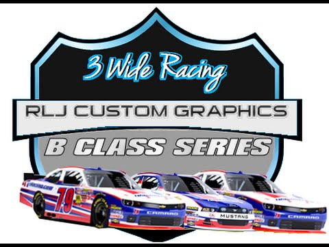 3 Wide Racing RLJ Custom Graphic B Class Series – Talladega