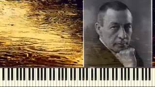 Прелюдия до-диез минор_С. Рахманинов (Prelude in c-sharp_ Rachmaninoff)(Пример игры на пианино)