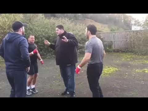 One punch knockout