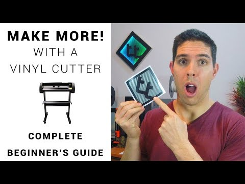 Make more with a vinyl cutter - cheap DIY stickers - Complete guide