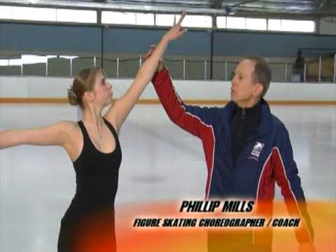 Olympic Figure Skating Coach Phillip Mills Training on What's Up Orange County