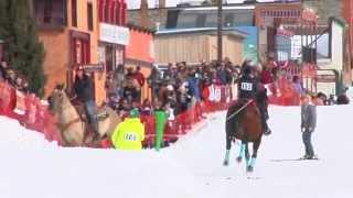5th Annual Skijoring Competition - Silverton, Colorado