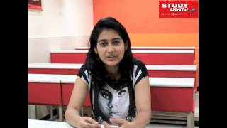 Student Speak – Sherya