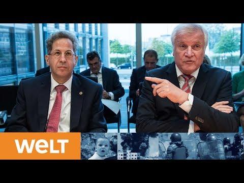 Bundesinnenminister Horst Seehofer (CSU) erklärt Maaß ...