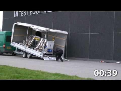 BM Trailer with Roller Brake Tester