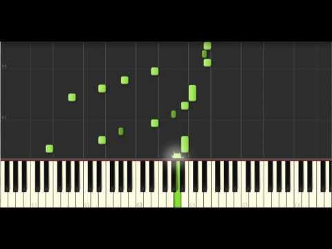 Ноты для фортепиано: «К Элизе» Людвиг ван Бетховен. Замедленно 50%