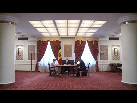 Igor Dodon, Zinaida Greceanîi şi Ion Chicu au participat la ședința săptămânală
