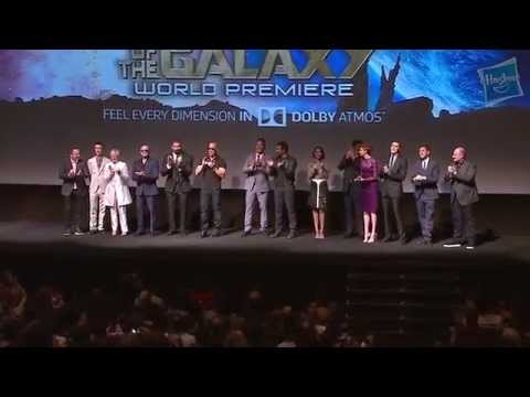 cast - The World Premiere of Marvel's