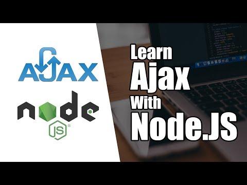 Introduction to Ajax With Node.JS | Part 3 | Eduonix