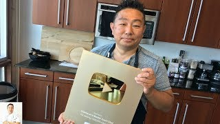 New Knife! | Gold Play Button | 2018 VidCon by Diaries of a Master Sushi Chef