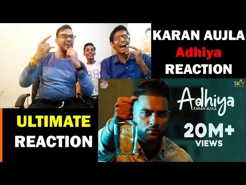 Adhiya Reaction Video - Karan Aujla - YeahProof - Street Gang Music- Latest Punjabi Songs  - Sky