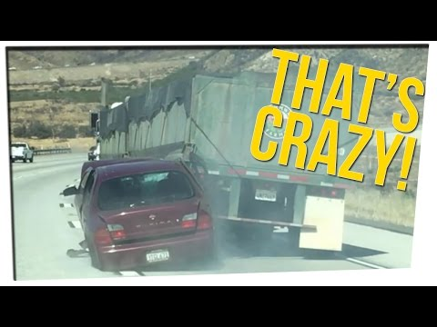 WEEKEND SCRAMBLE - Truck Unknowingly Drags Car for a Mile! ft. DavidSoComedy