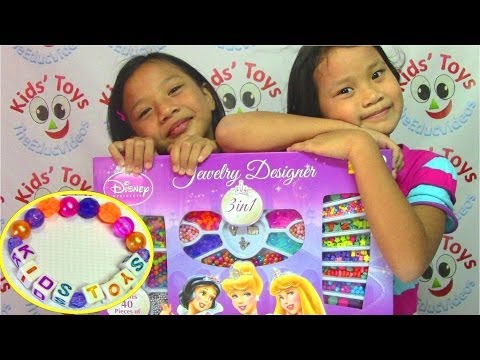 Disney Princess Jewelry Designer Playset - Kids' Toys
