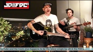 Download Lagu I Hate Myself For Loving You - Joan Jett Cover (Acoustic) by JD & the FDCs Mp3