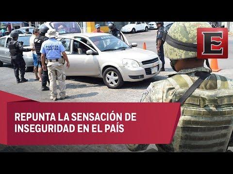 Mexicanos se sienten inseguros en su ciudad, revela Inegi
