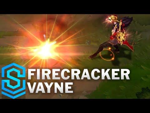Vayne Tân Niên - Firecracker Vayne Skin