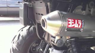 9. Suzuki King Quad 500 Yoshimura exhaust