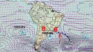 A meteorologista Josélia Pegorim comenta sobre os efeitos na chuva e na temperatura de uma frente fria que passa pelo litoral de SP e do RJ no primeiro fim d...