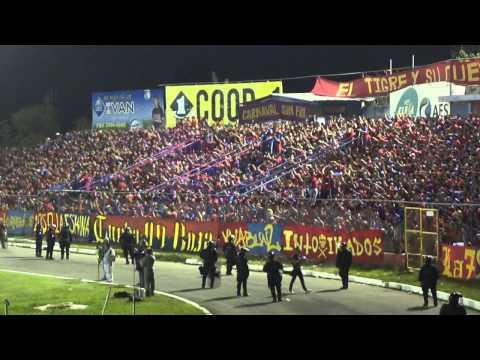 Turba Roja - Recibimiento Contra los putos... 22/02/14 - Turba Roja - Deportivo FAS