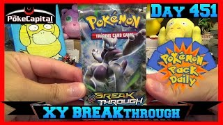 Pokemon Pack Daily XY BREAKthrough Forces Booster Opening Day 451 - Featuring ThePokeCapital by ThePokeCapital