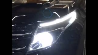 Ford explorer crazy custom headlights