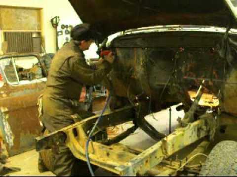 Project Whitey 57 GMC redneck Restoration's