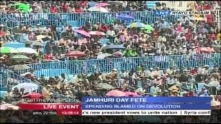 Liberian President Ellen Johnson Sirleaf Speech During Kenya's Jamhuri Day