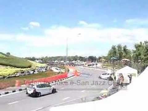 Honda Jazz One Make Race 2008 CNX with Big Crash!!!