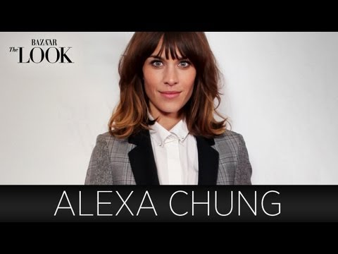 Chung - Alexa Chung talks with The LOOK's host Laura Brown about how she got her start in the fashion industry and some of her favorite styles. Join Alexa and Laura ...