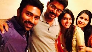 Vijay Hosts Dinner for Newlyweds Shanthanu Bhagyaraj and Keerthi Kollywood News 31/08/2015 Tamil Cinema Online