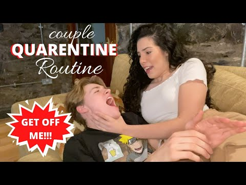 Quarantine Day 4: A DAY IN THE LIFE *couple routine*