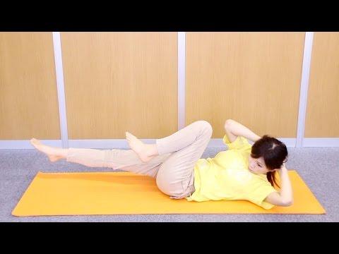 下腹部の筋肉を鍛えて全身ダイエット!