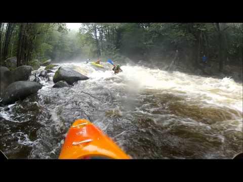 Lipno 2012 Whitewater Kayaking-GoPro HD Hero 2