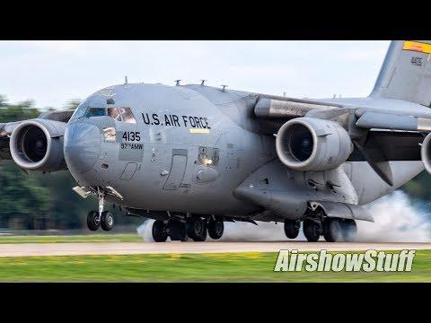 Various warbirds and military aircraft...