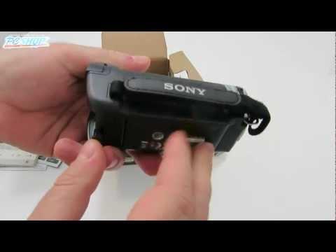 Sony DCR-SX21E | unboxing