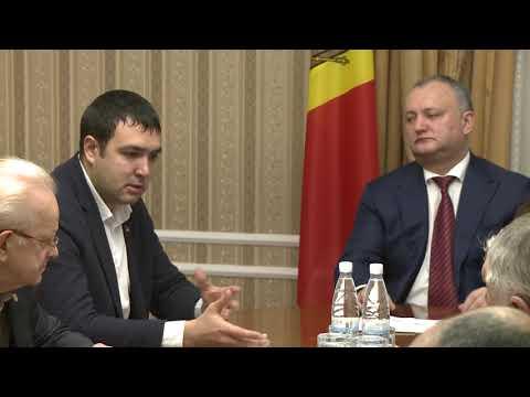 Președintele Moldovei a avut o întrevedere cu deputații Adunării Populare a Găgăuziei