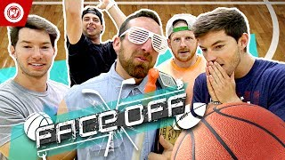 Dude Perfect Basketball Shootout | FACE OFF
