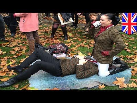 Protesty przeciw cenzurze pornografii w Wielkiej Brytanii