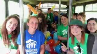 University Of Ulster Habitat For Humanity Student Build To Ethiopia June 2014