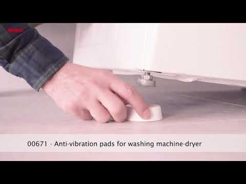Equipment for Washing Machine or Dryer- Anti Vibration Shock Absorbing Pads for Stabilization Handling of home appliance