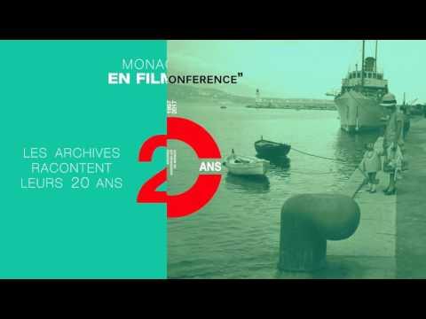 SAVE THE DATE ! Le 13 juin, les Archives audiovisuelles de Monaco racontent leurs 20 ans